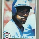 1979 Topps Baseball #341 Willie Upshaw RC Blue Jays Pack Fresh