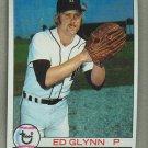 1979 Topps Baseball #343 Ed Glynn Tigers Pack Fresh