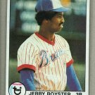1979 Topps Baseball #344 Jerry Royster Braves Pack Fresh