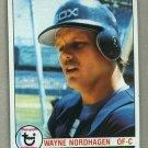 1979 Topps Baseball #351 Wayne Nordhagen White Sox Pack Fresh