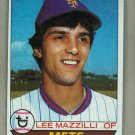 1979 Topps Baseball #355 Lee Mazzilli Mets Pack Fresh