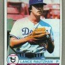 1979 Topps Baseball #373 Lance Rautzhan Dodgers Pack Fresh