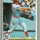 1979 Topps Baseball #401 Ray Knight Reds Pack Fresh