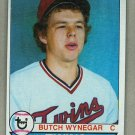 1979 Topps Baseball #405 Butch Wynegar Twins Pack Fresh