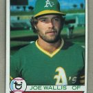 1979 Topps Baseball #406 Joe Wallis A's Pack Fresh