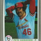 1979 Topps Baseball #407 Pete Vuckovich Cardinals Pack Fresh