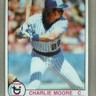 1979 Topps Baseball #408 Charlie Moore Brewers Pack Fresh