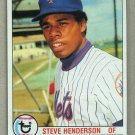 1979 Topps Baseball #445 Steve Henderson Mets Pack Fresh
