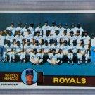 1979 Topps Baseball #451 Royals Team Checklist Pack Fresh