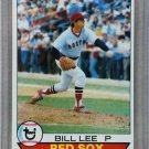 1979 Topps Baseball #455 Bill Lee Red Sox Pack Fresh