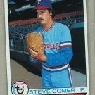 1979 Topps Baseball #463 Steve Comer Rangers Pack Fresh