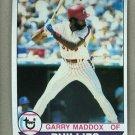 1979 Topps Baseball #470 Garry Maddox Phillies Pack Fresh