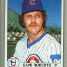 1979 Topps Baseball #473 Dave Roberts Cubs Pack Fresh
