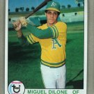 1979 Topps Baseball #487 Miguel Dilone A's Pack Fresh