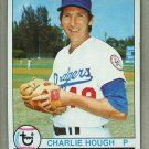 1979 Topps Baseball #508 Charlie Hough Dodgers Pack Fresh