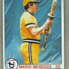 1979 Topps Baseball #509 Mario Mendoza Pirates Pack Fresh