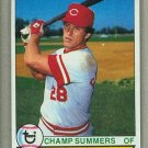 1979 Topps Baseball #516 Champ Summers Reds Pack Fresh