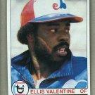 1979 Topps Baseball #535 Ellis Valentine Expos Pack Fresh
