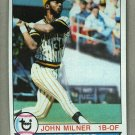 1979 Topps Baseball #523 John Milner Pirates Pack Fresh
