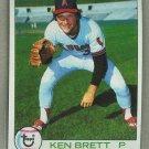 1979 Topps Baseball #557 Ken Brett Angels Pack Fresh