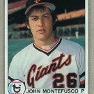 1979 Topps Baseball #560 John Montefusco Giants Pack Fresh