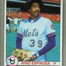 1979 Topps Baseball #566 Nino Espinosa Mets Pack Fresh