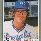 1979 Topps Baseball #571 Darrell Porter Royals Pack Fresh