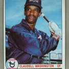 1979 Topps Baseball #574 Claudell Washington White Sox Pack Fresh