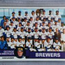 1979 Topps Baseball #577 Brewers Team Checklist Pack Fresh