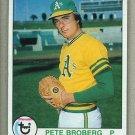 1979 Topps Baseball #578 Pete Broberg A's Pack Fresh