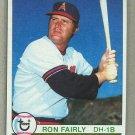 1979 Topps Baseball #580 Ron Fairly Angels Pack Fresh