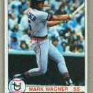 1979 Topps Baseball #598 Mark Wagner Tigers Pack Fresh