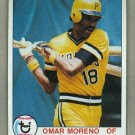1979 Topps Baseball #607 Omar Moreno Pirates Pack Fresh