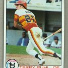 1979 Topps Baseball #617 Terry Puhl Astros Pack Fresh