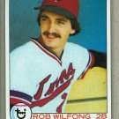1979 Topps Baseball #633 Rob Wilfong RC Twins Pack Fresh