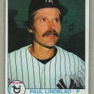 1979 Topps Baseball #634 Paul Lindblad Yankees Pack Fresh