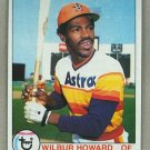 1979 Topps Baseball #642 Wilbur Howard Astros Pack Fresh