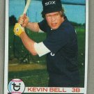 1979 Topps Baseball #662 Kevin Bell White Sox Pack Fresh