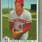 1979 Topps Baseball #674 Dave Tomlin Reds Pack Fresh