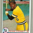 1979 Topps Baseball #687 Rennie Stennett Pirates Pack Fresh