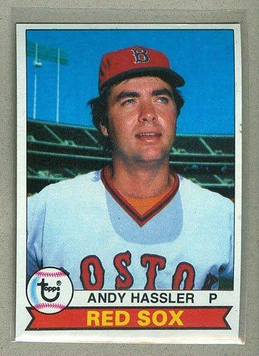 1979 Topps Baseball #696 Andy Hassler Red Sox Pack Fresh
