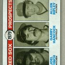 1979 Topps Baseball #702 Finch/Hancock/Ripley Red Sox Pack Fresh