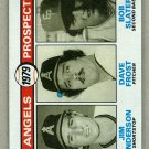 1979 Topps Baseball #703 Anderson/Frost/Slater Angels Pack Fresh