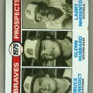 1979 Topps Baseball #715 Benedict/Hubbard/Whisenton RC Braves Pack Fresh