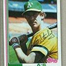 1982 Topps Baseball #787 Fred Stanley A's Pack Fresh