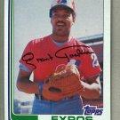 1982 Topps Baseball #779 Grant Jackson Expos Pack Fresh