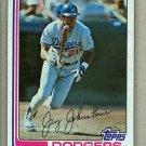 1982 Topps Baseball #774 Jay Johnstone Dodgers Pack Fresh