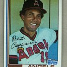 1982 Topps Baseball #772 Bert Campaneris Angels Pack Fresh