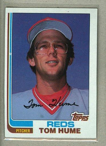 1982 Topps Baseball #763 Tom Hume Reds Pack Fresh