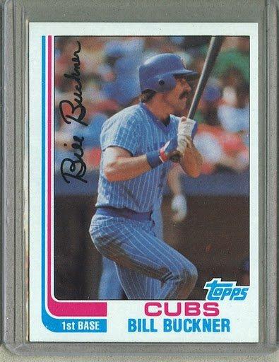 1982 Topps Baseball #760 Bill Buckner Cubs Pack Fresh